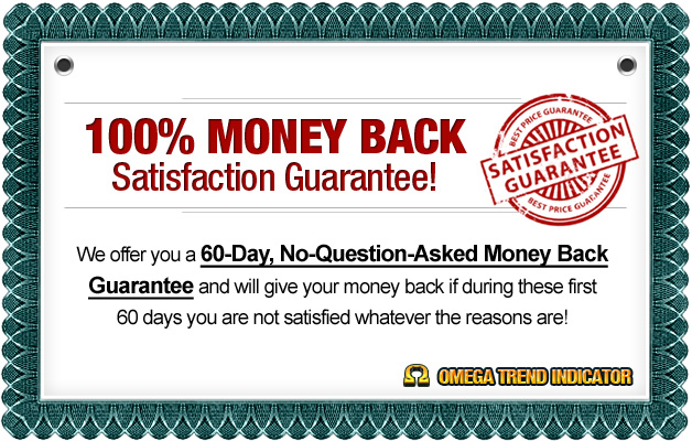 Omega Trend Indicator money back guarantee